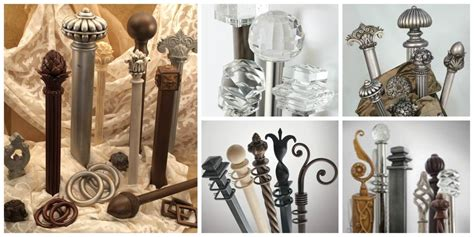 Unique Drapery Hardware by Custom Drapery Hardware And Curtain Rods Can Modernize