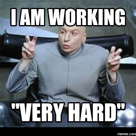 Work Hard Meme - news fivezero work fivezero