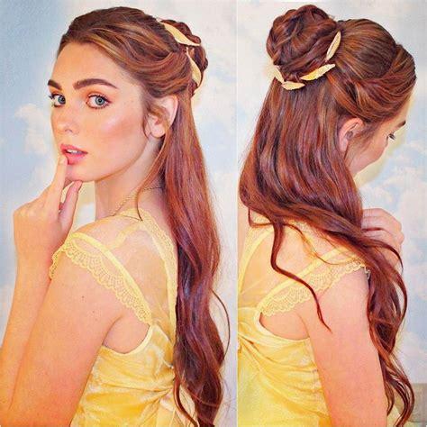 belle hairstyle ideas  pinterest