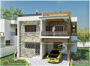 Double storied Tamilnadu house design - Kerala home design ...