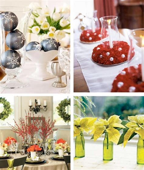 simple christmas decorations 50 great easy christmas centerpiece ideas digsdigs