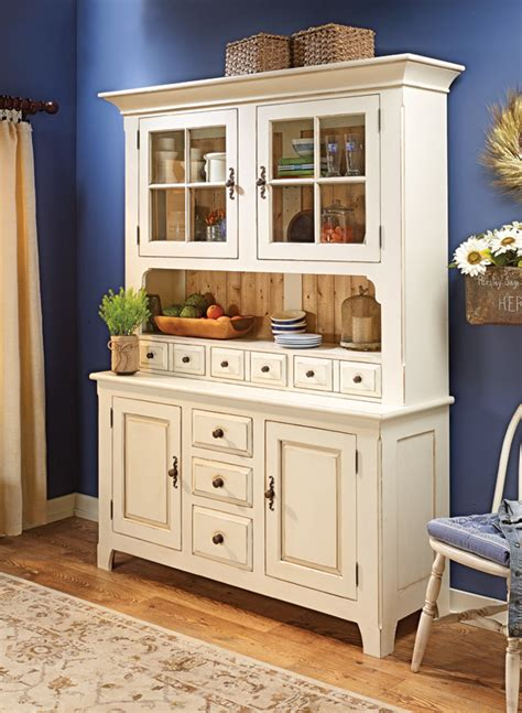classic country hutch woodworking project woodsmith plans