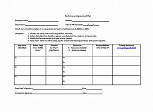 sample employee action plan 12 documents in pdf With template for action plan for performance improvement