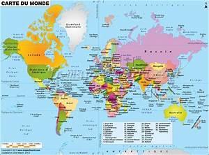 Carte Du Monde Metallique : cartes des pays du monde g ographie pinterest ~ Teatrodelosmanantiales.com Idées de Décoration