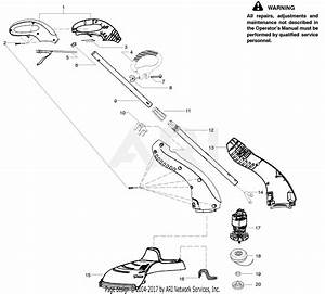Poulan Rte115c Electric Trimmer Parts Diagram For Product Complete