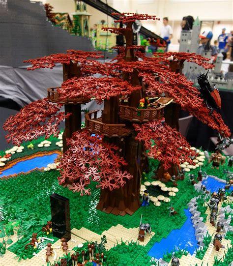 lego treehouse awesume lego lego lego creations lego