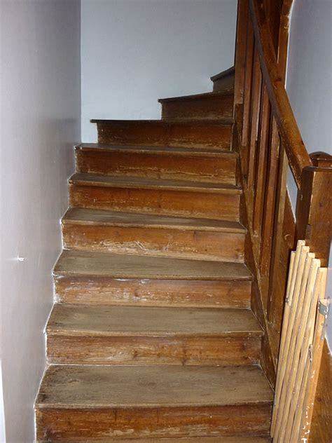 conseils menuiserie maison escalier en bois bien attaqu 233