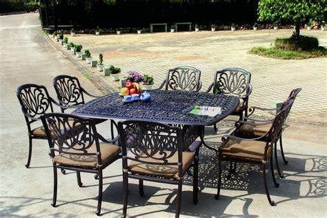 darlee elisabeth cast aluminum 9 patio dining set
