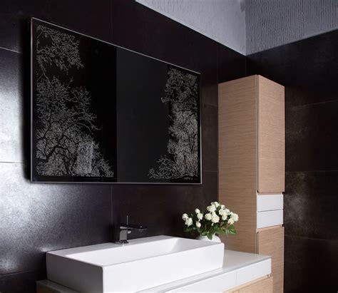 custom bathroom lighted mirror vanity led