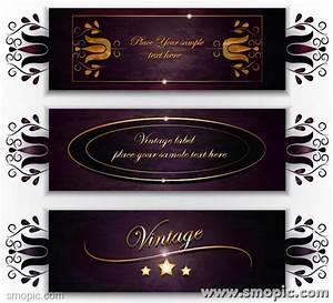 3 purple vector wine labels design template vintage labels With design wine labels online free