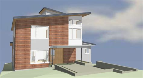 house porch side view big view house 2 3 d schematic modeling cta design