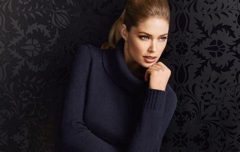 wallpaper  girl model doutzen kroes blonde