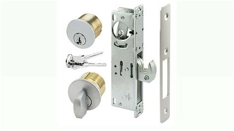 Adams Rite Type Store Front Door Lock Hook Deadbolt Set