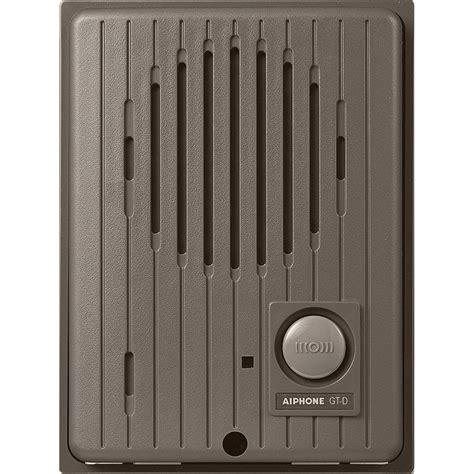 Aiphone Gtd Audio Tenant Door Station For Gt Series Gtd B&h