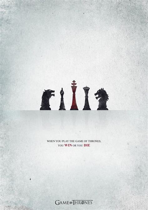 Game Of Thrones Minimalist Tv Show Poster Tv Shows