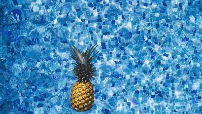 Pineapple Water Desktop Sea Laptop Wave Swim