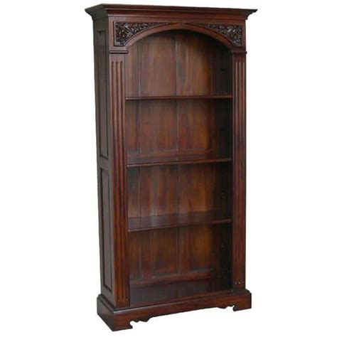 bookcase with legs arched top bookcase akd furniture