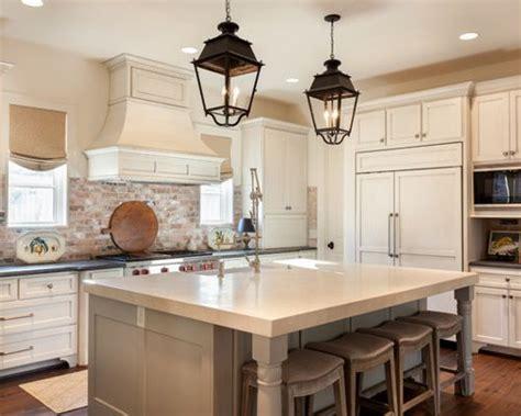 white kitchen cabinets with brick backsplash brick backsplash ideas houzz 2066