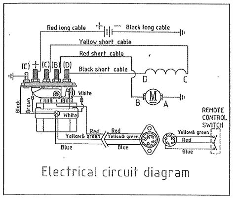 Warn Winch Wiring Without Solenoid Indexnewspaper