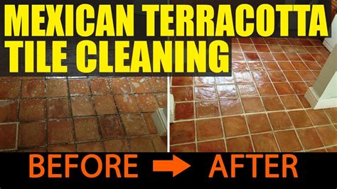 cleaning  sealing handmade mexican terracotta tiles