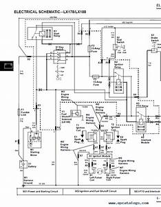 John Deere Lx178 Wiring Diagram  I Have 2000 Deere Lx178 That Starts Fine And Runs Fine For