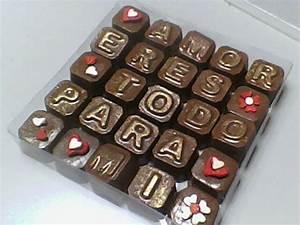 Chocolates Personalizados Nombres Frases Lo Que Desees Bs 130,00 en Mercado Libre