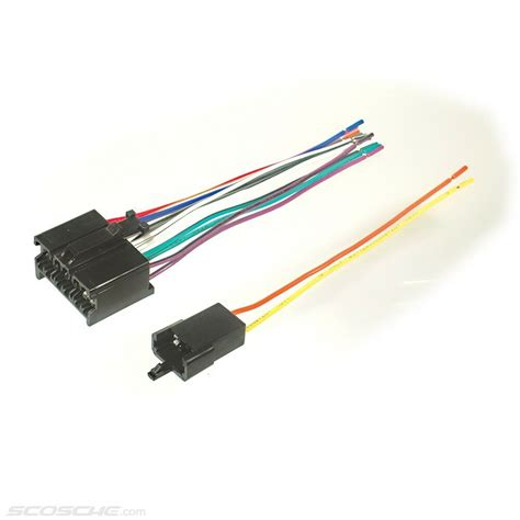 For Gm Radio Wiring Harnes Connector by Plugs Into Early Gm Factory Radio Car Stereo Wiring