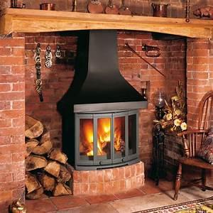 Dovre 2400cb Wood Burning Fireplace Stove
