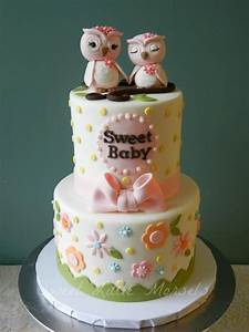 Baby Shower Cakes: Baby Shower Cakes With Owls
