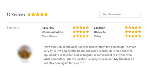airbnb host review all about reviews a community help guide airbnb community