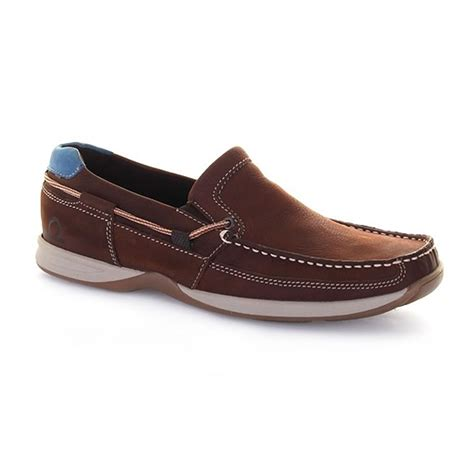Chatham Bowker Ii Slipon Deck Shoes For Men In Tan