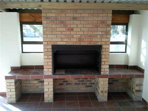 building   braai  input  chimney design
