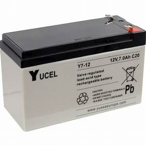Sealed Lead Acid Battery 12v 7ah 151 X 65 X 101mm