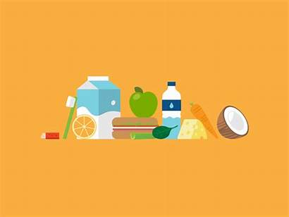 Healthy Health Foods Animation Dribbble Oral Icon