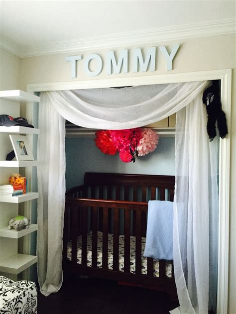 A In The Closet by Best 25 Crib In Closet Ideas On Organize Baby