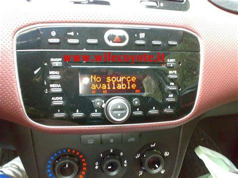 ingresso aux grande punto autoradio fiat grande punto aux the fiat car