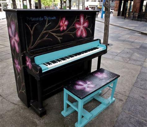 creative painting ideas   piano decorating