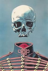 hipster skull on Tumblr