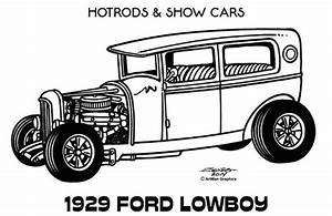 over 1 000 bilder om colouring in pages pa pinterest With 34 ford hot rod