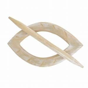 Embrasse Rideau Originale : fermatende pinze e decorazioni accessori bastone tenda eminza ~ Teatrodelosmanantiales.com Idées de Décoration