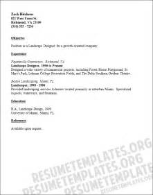 landscape designer resume template pin template for landscape architect resume pictures on
