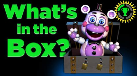 Game Theory Fnaf Game Theory Fnaf 6 What Was In The Box Fnaf 6 Freddy