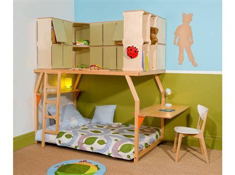 lit mezzanine 3 ans table de lit