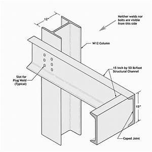 Farnsworth House Mvdr Detail Steel Frame  Steelframe