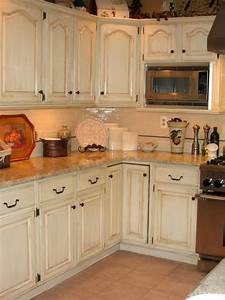 25 best ideas about distressed kitchen cabinets on for Kitchen colors with white cabinets with hand drawn wall art