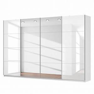 Schwebetürenschrank Weiß Hochglanz : schwebet renschrank sk p alpinwei hochglanz wei spiegelglas ~ Orissabook.com Haus und Dekorationen