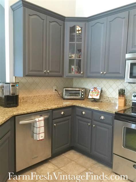 queenstown gray kitchen cabinet transformation general