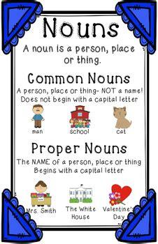 common  proper noun anchor chart  erin  martin tpt