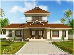 Kerala House Front Elevation Design Kerala Beautiful ...
