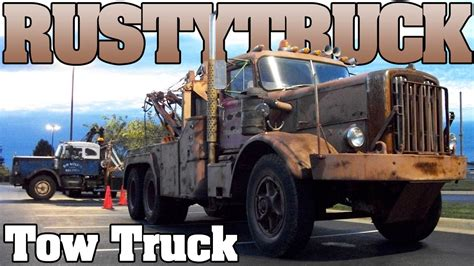 tow mater rusted  diesel tow truck tow show  youtube